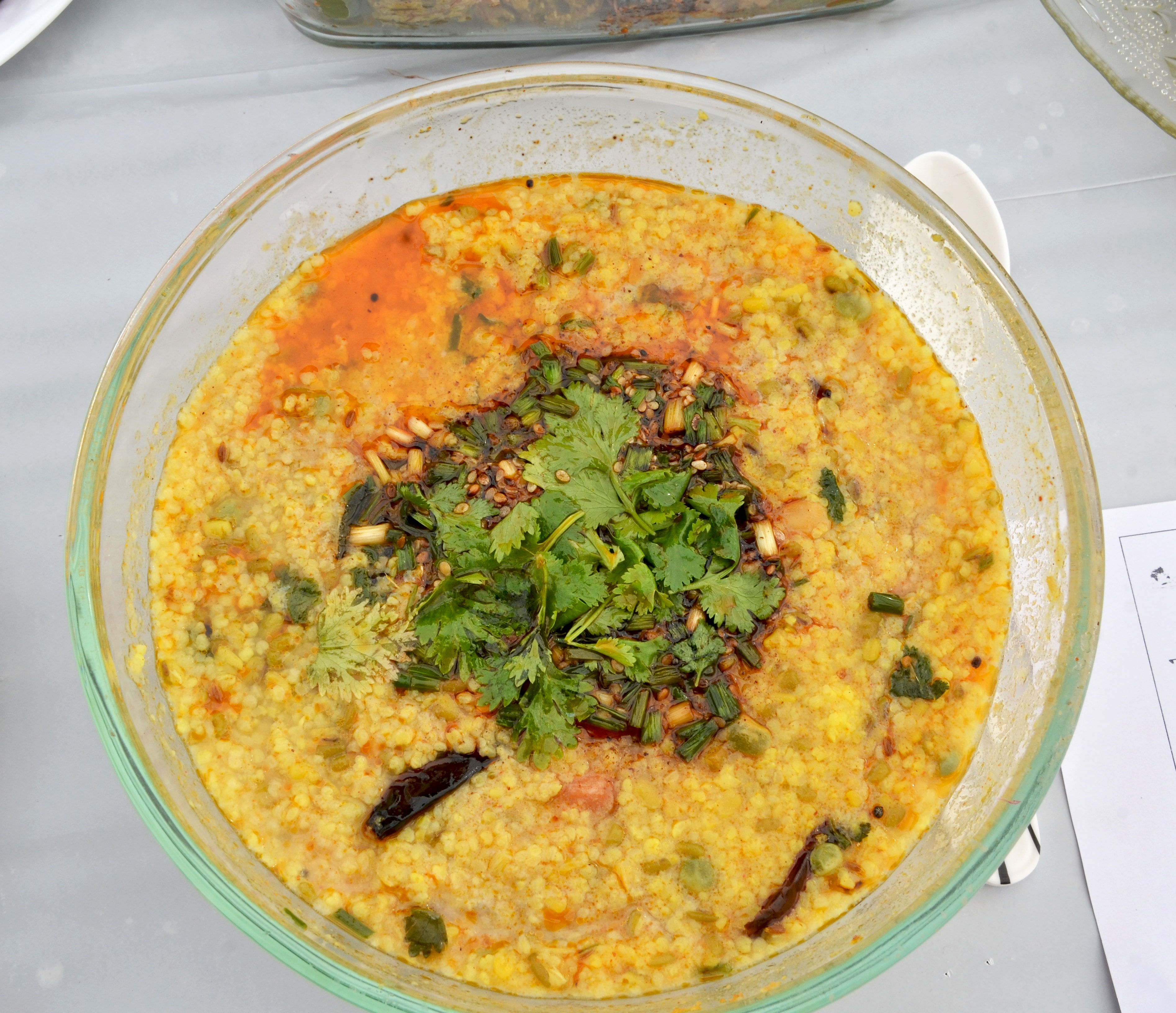 Multi- grain Spicy Porridge – 'Khichdi'